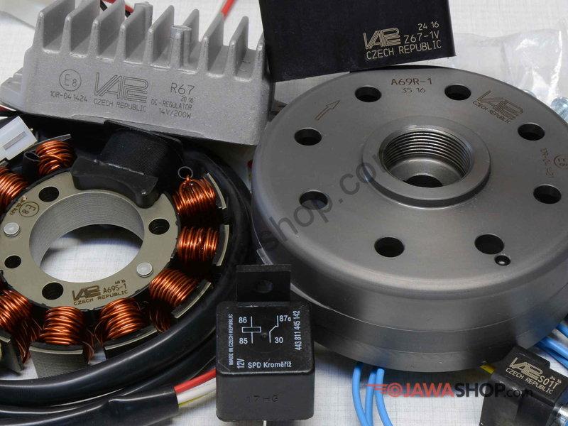 Ignition set VAPE 12V - single output (SZ13-1)