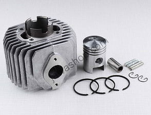 Cylinder 50cc with piston complete (Jawa Pionyr 20, 21, 23) /