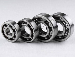 Ball bearing of engine - 4pcs (Jawa 350 type 354) /