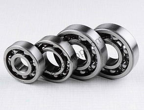 Ball bearing of engine set - 4pcs (Jawa 250 Panelka) /