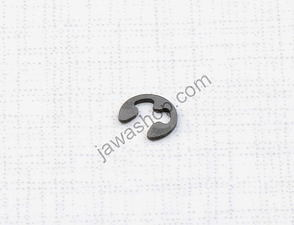 Securing clip of choke pin spring (Babetta 207,210) /