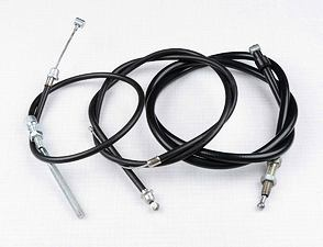 Bowden cable set (Jawa Mosquito) /