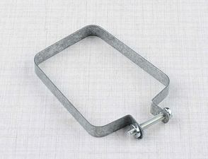 Chain cover clamp - rear / Jawa 634-640