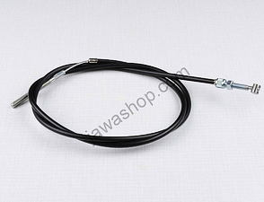 Front brake bowden cable with adjustment (Jawa, CZ Kyvacka) /
