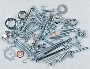 Engine bolt & nut pack (Jawa-CZ 125, 175) /