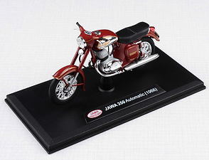1:18 scale model Jawa 350 Automatic (1966) - RED /