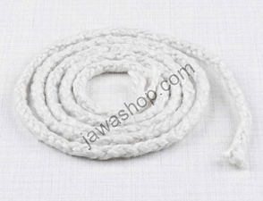 Sealing rope of exhaust silencer 4mm - 1m (Jawa, CZ) /