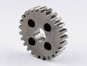 Wheel of 1st gear, layshaft - 25t / CZ 125,175