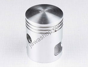 Piston 58-60mm, pin 15mm - RIGHT, Berta / Jawa 350 (6V)