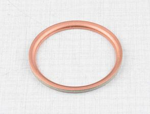 Sealing ring of exhaust pipe (Cu) (Jawa 634) /