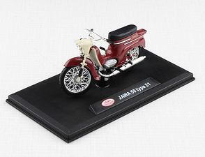 1:18 scale model Jawa 50 Pionyr type 21 - RED /