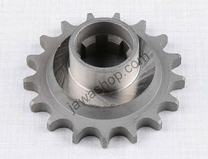 Drive sprocket - 17t with extension (Jawa 250, 350 Kyvacka) /