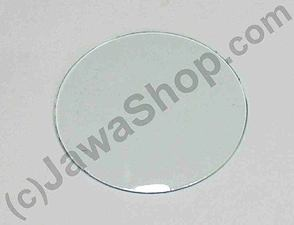 Glass of speedometer 80mm  - convex (Jawa, CZ) /