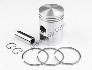 Piston set 52.00 - 53.50mm, pin 18mm (Jawa, CZ 125) /