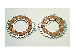 Clutch plate set - cork / Jawa Pio 20-23