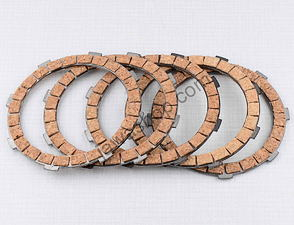Clutch plate set - cork / Jawa 90
