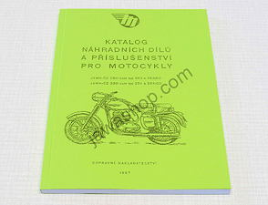 Spare parts catalog - A5, CZ (353, 354-03) / Jawa 250, 350