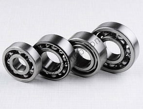 Ball bearing of engine set - 4pcs / Jawa 638-640