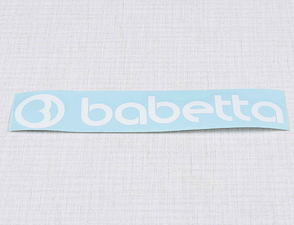 Sticker Babetta 135x25mm - white (Babetta) /