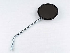 Rearview mirror right - circle, M8x1,25 (Jawa, CZ) /