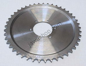 Rear chain wheel - 45t (Jawa 500 (15-02) /
