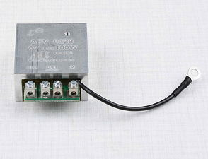 Regulator AEV 0429 6V 45-100W (-)pole (Jawa, CZ) /