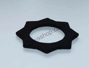 Felt pad of filler cap - black (Jawa Pionyr 23, S22) /