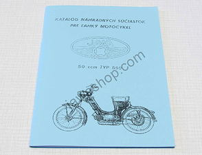 Spare parts catalog - A5, CZ / Jawa Pio 550
