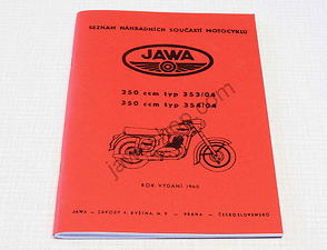 Spare parts catalog - A5, CZ (Jawa 250, 350 / 353, 354-04) /