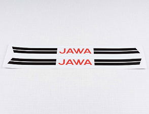 Fuel tank sticker set (Jawa Pionyr 23) /