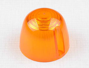 Blinker glass - round, orange (Jawa 634, CZ, Velorex) /