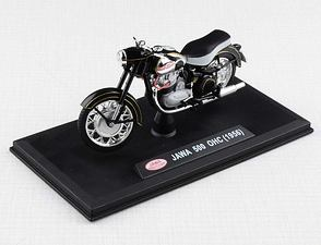 1:18 scale model Jawa 500 OHC (1956) - Black /