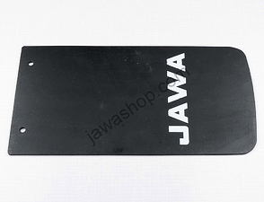 Rear fender flap - rectangle / Jawa 638,639