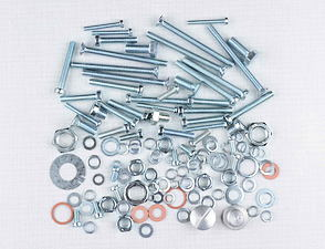 Engine bolt & nut pack (CZ 125,150 C) /