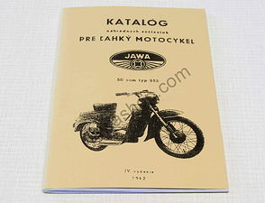 Spare parts catalog - A5, CZ / Jawa Pio 555