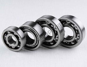 Ball bearing of engine set - 4pcs / Jawa 634, Bizon