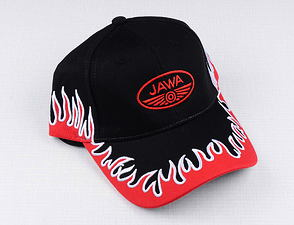 Hat Jawa with flames /