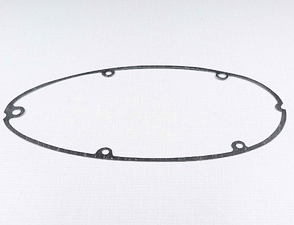 Gasket of left crankcase cover (clutch) - 0.8mm (Jawa 350 Kyvacka) /