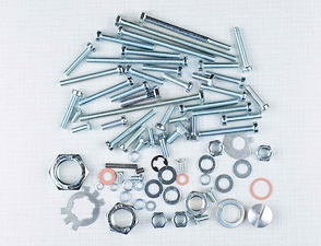 Engine bolt & nut pack (CZ 450 - 475) /