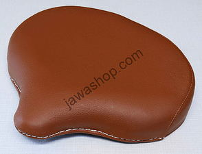 Seat front - light brown (Jawa Perak, CZ) /