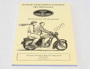 Spare parts catalog - A5, CZ (Jawa CZ 125, 175 / 355, 356) /