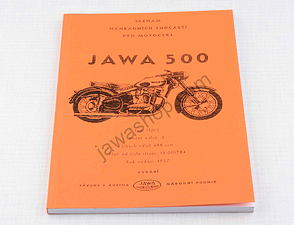 Spare parts catalog - A5, CZ / Jawa 500 OHC type 02