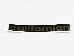 Sticker Californian 120x20mm (Jawa Californian) /