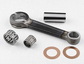 Connecting rod - piston pin 16mm (CZ 476, 477) /
