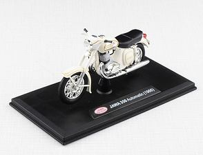 1:18 scale model Jawa 350 Automatic (1966) - White /