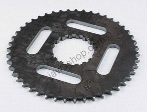 Rear chain wheel - 47t (Jawa, CZ Kyvacka) /