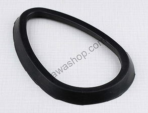 Rubber sealing of ampermeter - black (Jawa, CZ Kyvacka) /
