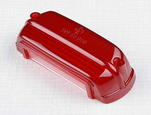 Tail lamp cover - red (CZ, Scooter, PAV 40) /
