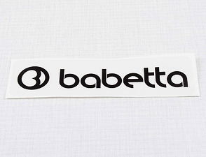 Sticker Babetta 135x25mm - black (Babetta) /