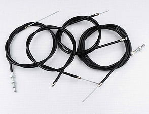 Bowden cable set with decompressor (Babetta 207) /